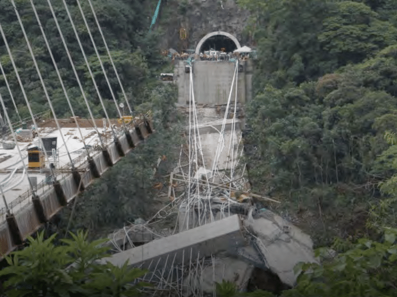 CABLE-STAYED BRIDGE COLLAPSE